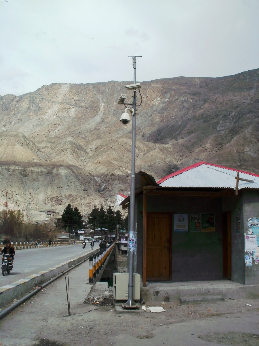 Gilgit City Surveillance Project